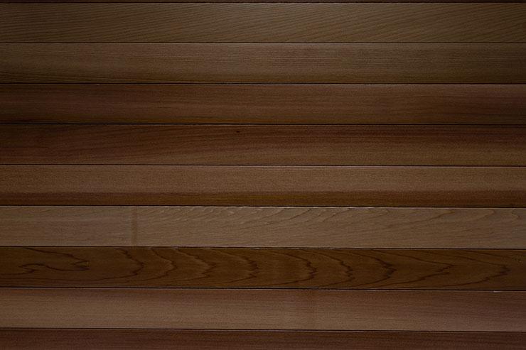 Wooden walnut cedar